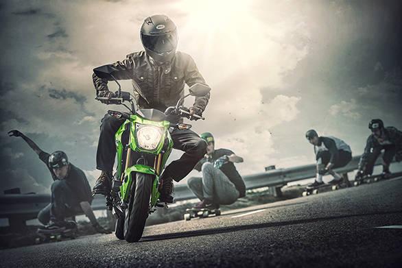 Kawasaki z125 Pro (8)