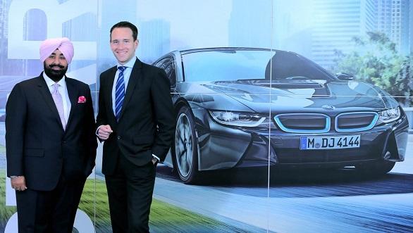 (L-R) Mr. Libra, MD - Libra ... esident, BMW Group India.JPG