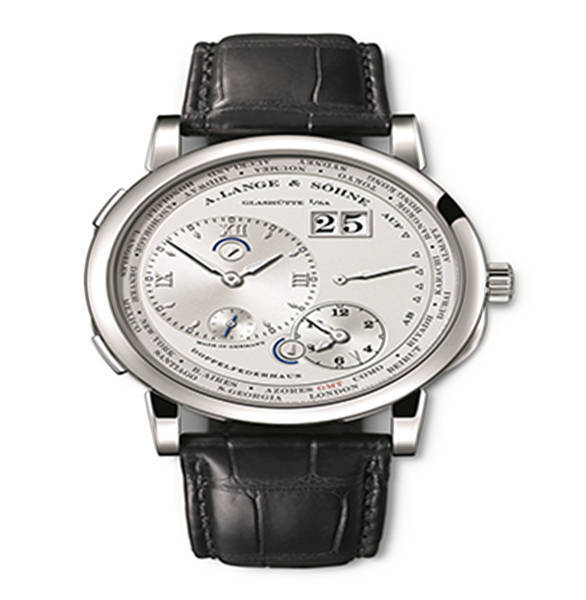 Lange 1 time zone como edition wristwatch 1