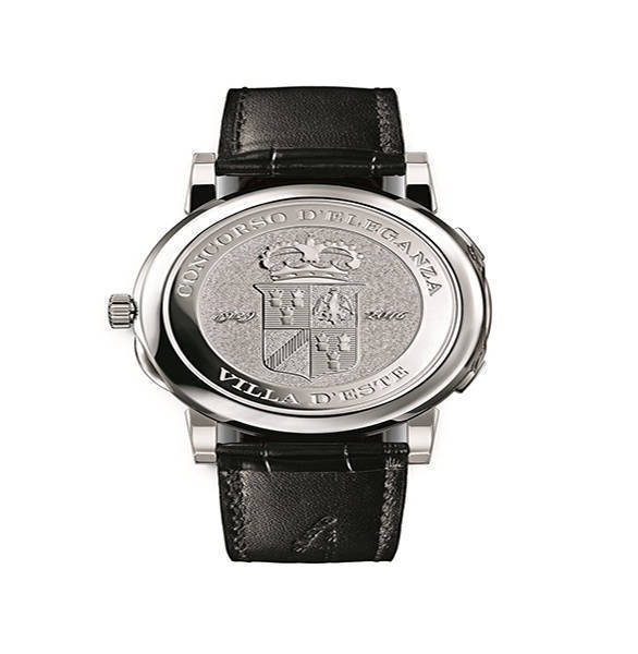 Lange 1 time zone como edition wristwatch 2