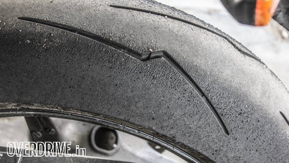 Despite having just a handful of laps on track the chassis encouraged me to use all of the tyre!