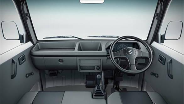 Maruti Suzuki Super Carry interior image