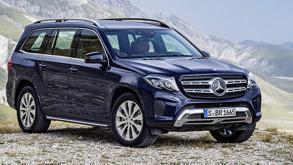 GLS 350 d, Exterieur: Cavansitblau metallic, exterior: cavansite blue