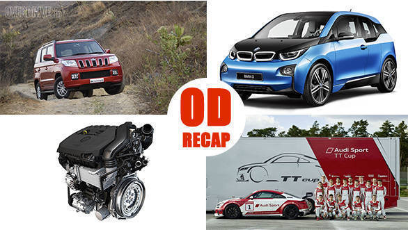 #ODRecap: Audi TT Cup to kick off, 100PS TUV300 to be launched, and more