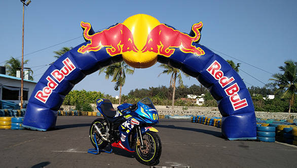 Red Bull Racing and Suzuki inaugurate the 2016 Road to Rookies Cup in India