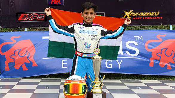 Round 3 Asia winner Shahan Ali Mohsin