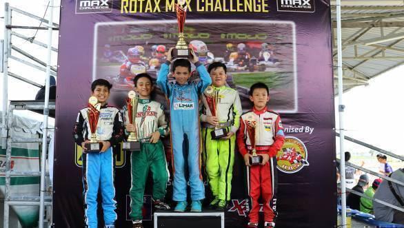 Shahan Ali Mohsin 2016 Asia Max Karting Championship Sepang