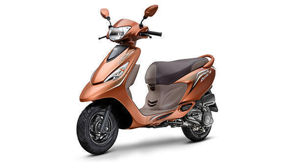 TVS Scooty Zest special edition