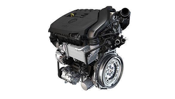 Volkswagen 1.5 litre TSI evo engine. EA211 evo