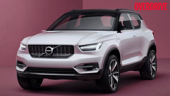 The Volvo 40.1 Concept previews the upcoming XC40 crossover