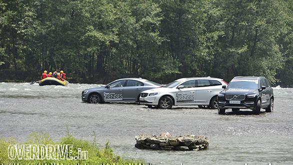 Feature: Volvo 5 Senses drive