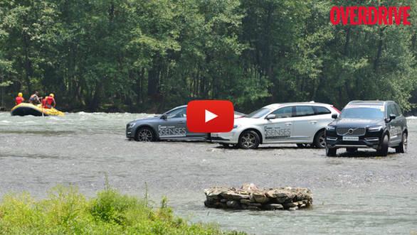 Video: OVERDRIVE Volvo 5 Senses drive