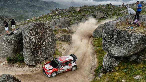 Kris Meeke powered through to win Rally Portugal, maintaining his lead over rivals all through the rally