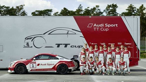 2016 Audi Sport TT Cup set to kick off on May 7