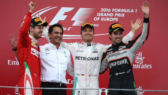 F1 2016: Rosberg wins inaugural European GP at Baku