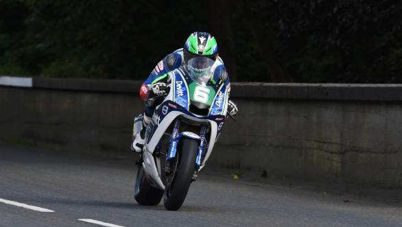 Ivan Linten won the 2016 Lightweight TT at the Isle of Man