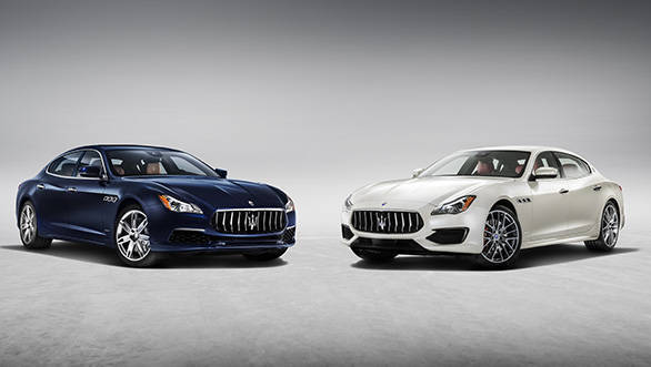 Maserati launches updated Quattroporte