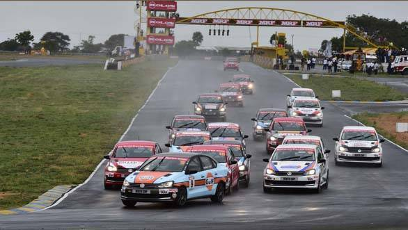 2016 Indian National Racing Championship: Ishaan Dodhiwala and Karminder Singh tied after Round 1 of Vento Cup