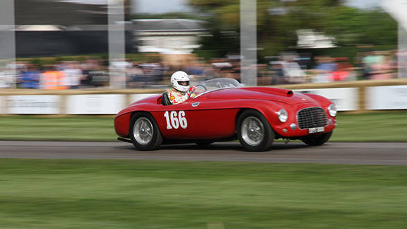 The 1950 Ferrari 166MM Barchetta was one of Ferrari's most successful racecars ever - winning the Mille Mignia twice, winning at Le Mans and also winning the 24 Hours of Spa