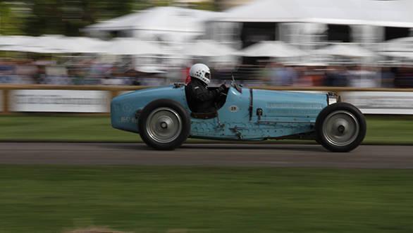 The car that gave Bugatti it's last Grand Prix 1-2 at Spa-Francorchamps in 1934 - the Bugatti Type 59