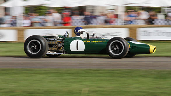 The 1966 Lotus-BRM 43 that won Jim Clark the 1966 US GP