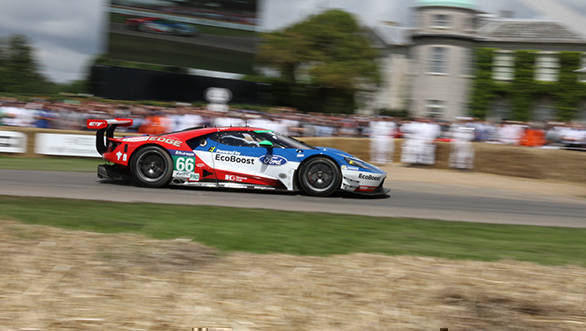 One of the Ford GTs, fresh from its outing at the 2016 edition of the 24 Hours of Le Mans