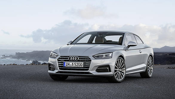 Audi unveils the new A5 and S5 coupe
