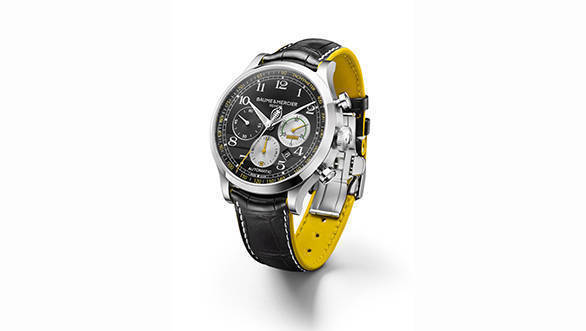 Baume et Mercier Capeland Shelby Cobra Limited Edition 10282 3/4 profil