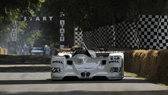 The BMW V12 LMR which will be at the Goodwood Festival of Speed
