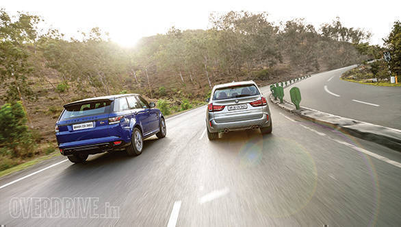 BMW X5M vs Range Rover SVR (31)