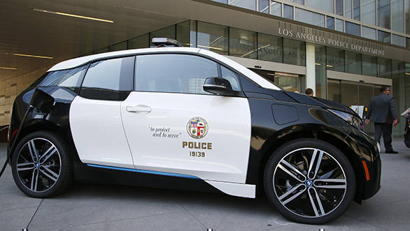 LAPD adds 100 BMW i3 electric cars to its fleet