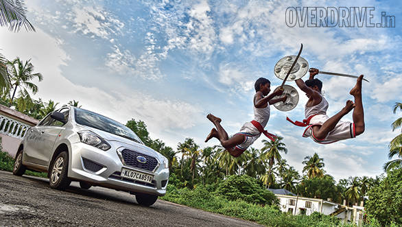 Datsun Go Kerala three
