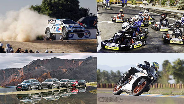 Events this week: WRC Sardegna, KTM track day and IndiKarting National Series
