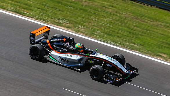BUDAPEST (HUN) JUN 17-19 2016 - Third round of the Formula Renault 2.0 NEC at the Hungaroring. Jehan Daruvala #1 Kaufmann Racing. Action.  2016 Diederik van der Laan / Dutch Photo Agency / LAT Photographic