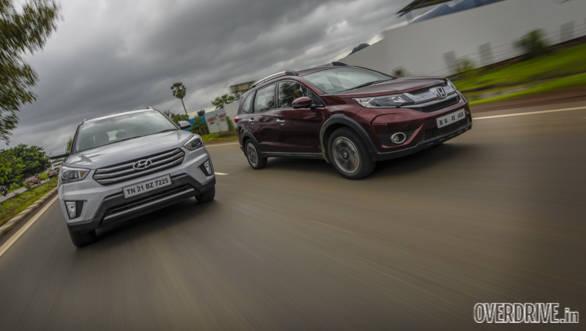 Hyundai Creta vs Honda BRV Comparo (116)
