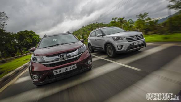 Hyundai Creta vs Honda BRV Comparo (120)