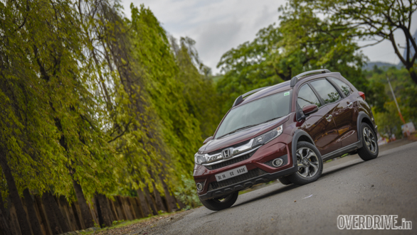 2016 Honda BR-V Petrol CVT road test review