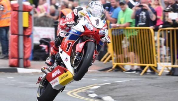 John McGuinness took third at this year's Senior TT