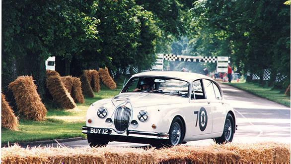 Jaguar Mark 2 at Goodwood Festival of Speed