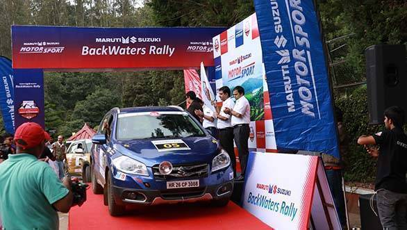 Maruti Suzuki Backewaters Rally - Flag Off (1)