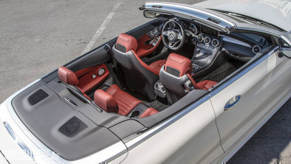 2016 Mercedes C Class Cabriolet First Drive Review Overdrive