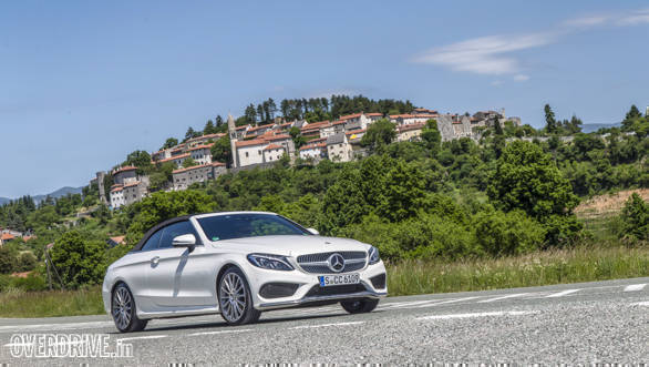 2016 Mercedes C-Class Cabriolet first drive review