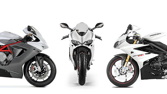 Spec Comparison Ducati 959 Panigale Vs Mv Agusta F3 800 Vs Triumph