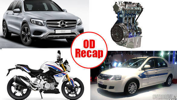 ODRecap: BMW-Motorrad's India plans, Hike in fuel price, GLC and e-Verito launched in India