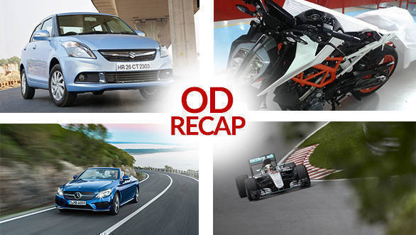 ODRecap: 2017 KTM 390 Duke caught testing, Hamilton wins Canadian GP, and more