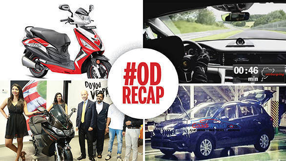 ODRecap: Piaggio opens Motoplex in Kochi, 2017 Porsche Panamera fastest sedan around Nurburgring, and more