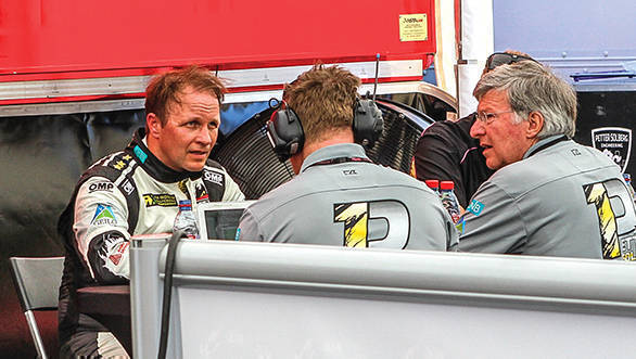 After a fourth place in the final though, it's an immediate debrief to ensure mistakes aren't repeated