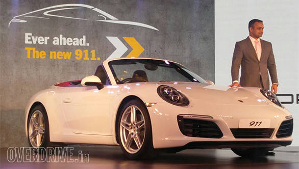 2017 Porsche 911 range arrives in India at Rs 1.39 crore