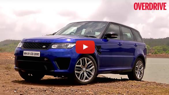 Video review: Range Rover Sport SVR road test