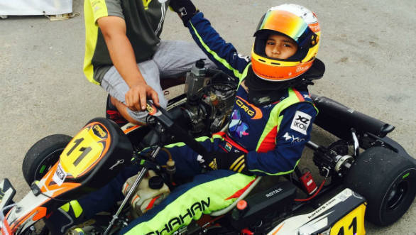 2016 National Karting Championship: Shahan secures 2nd position in Round 2 finals